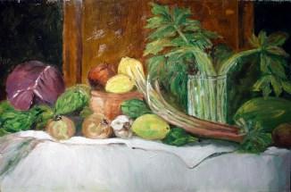 0561 Bodegon  verduras